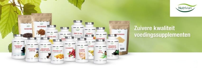 nutrivian supplementenoverzicht
